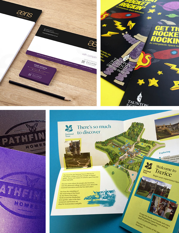 Graphic Design Agency in Exeter Portfolio