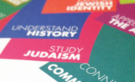 London Jewish Cultural Centre Brochures