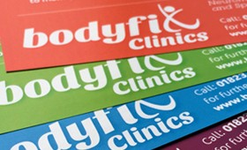 Bodyfix Clinics Re-brand