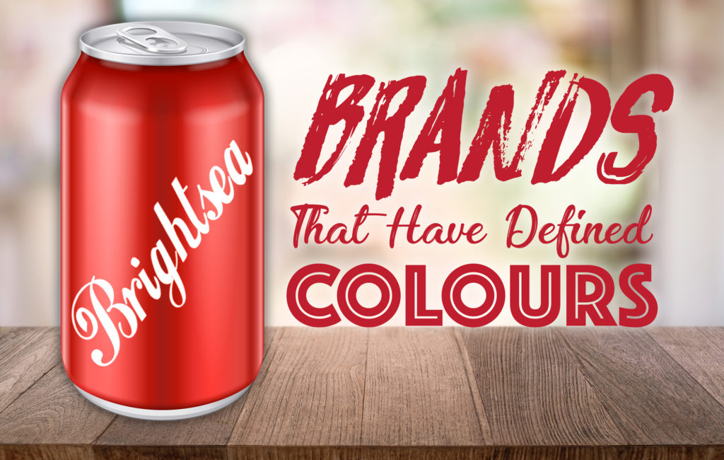 Brand that have defined colours