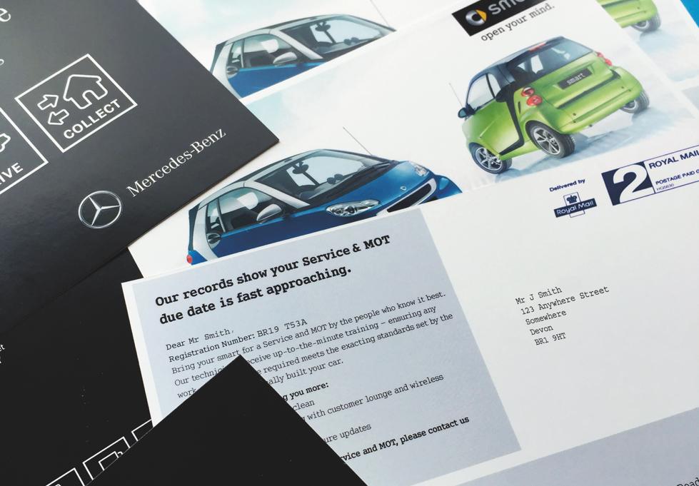 Car brochure letter