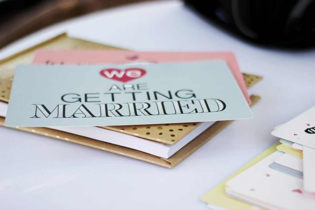 Wedding invite design
